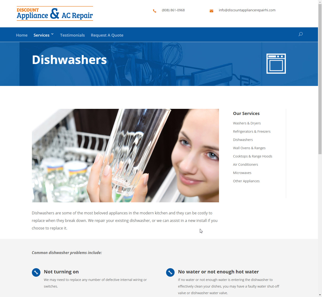 Discount Appliance and AC Repair