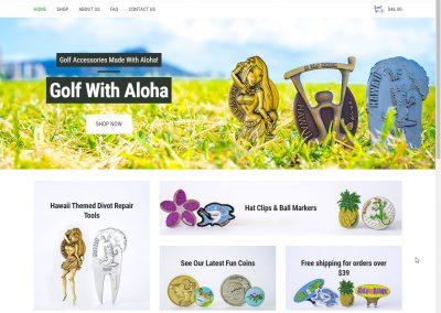Golf With Aloha