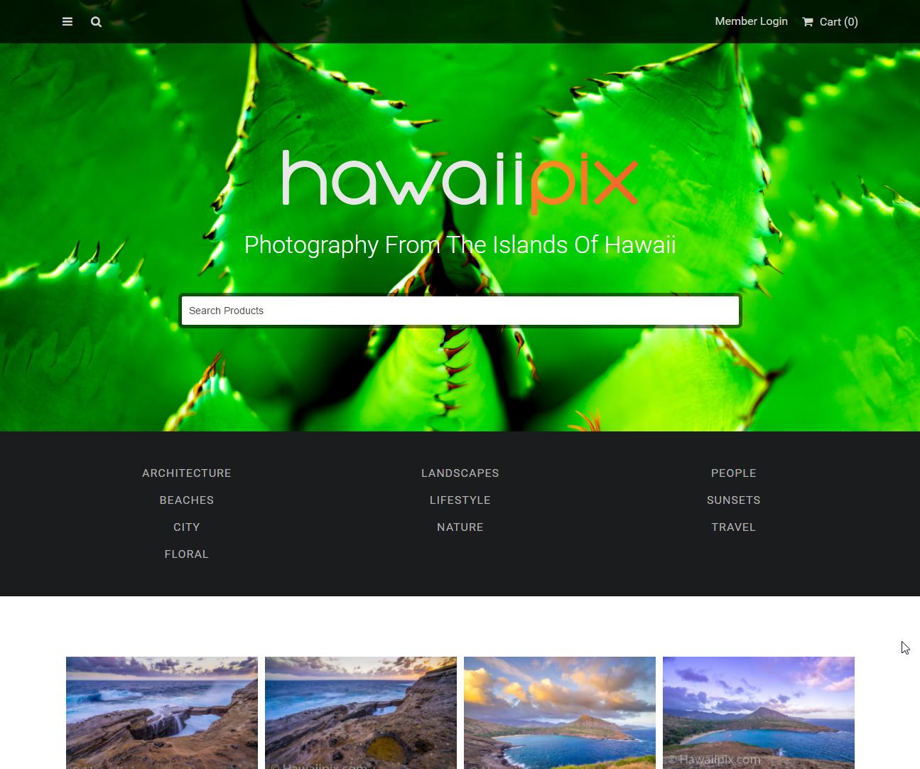Hawaiipix Front Page