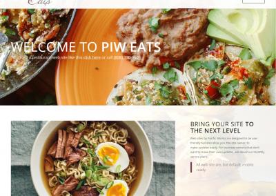 Restaurant Website Demo